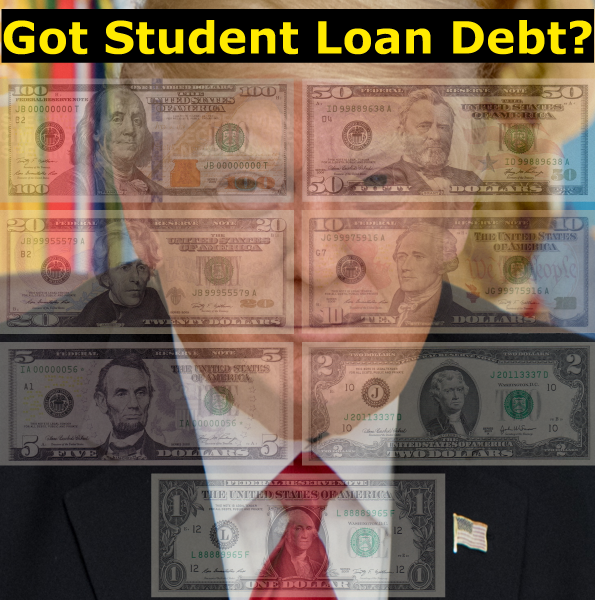 Got Student Loan Debt?  Trump's Tax Plan Will Help Cost You More.  Potentially Thousands For Some!